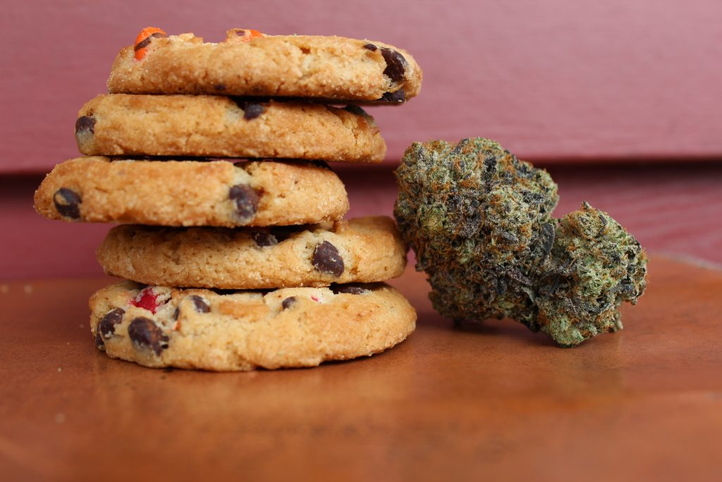 Decarbed cannabis edibles